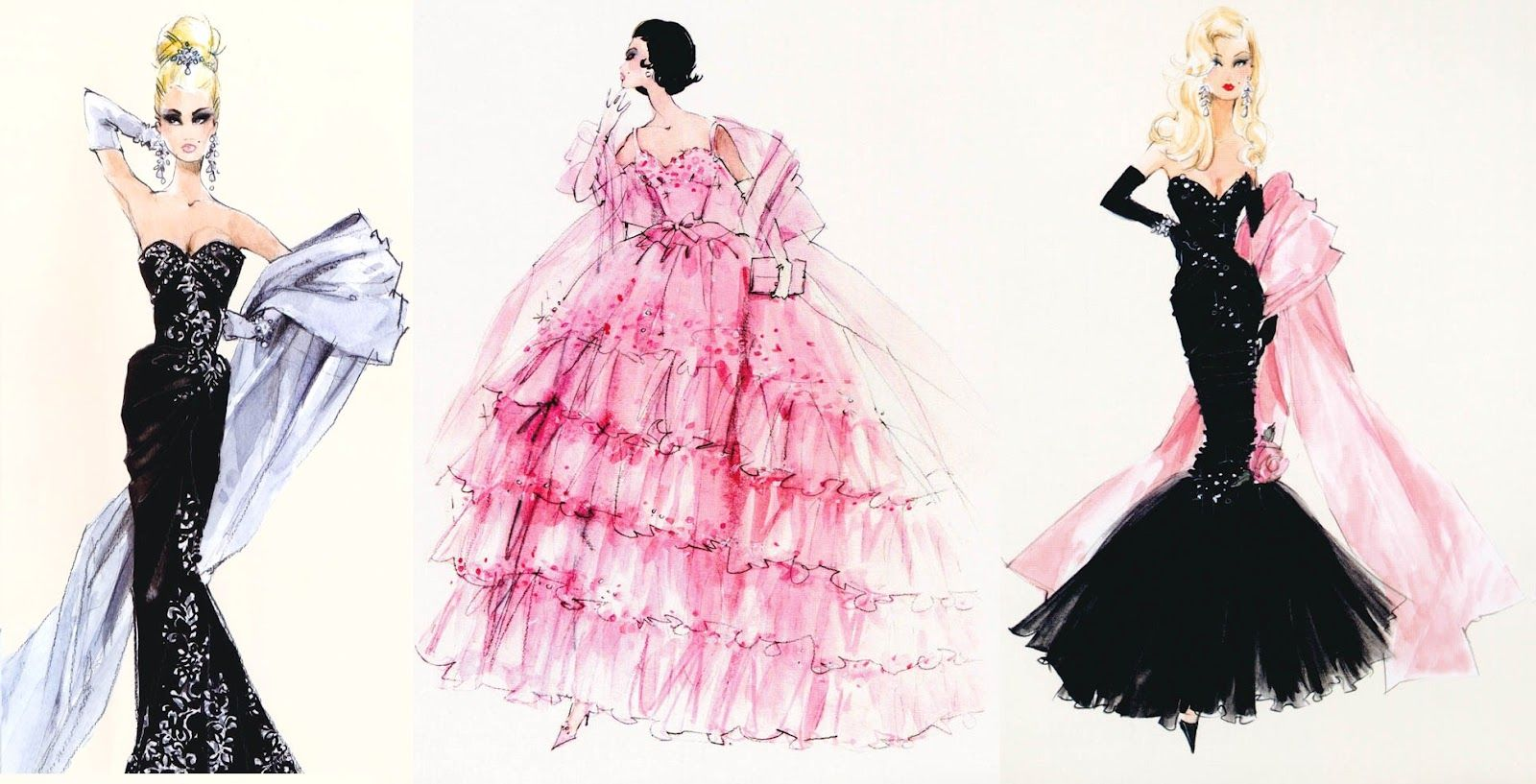 17 Best images about Barbie Fashion Sketch on Pinterest | Fashion ...