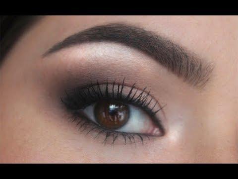 simple smokey eye for beginners ♡  youtube in 2020
