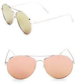 c3ea2d4c22 Gentle Monster Ranny Ring 57MM Aviator Sunglasses