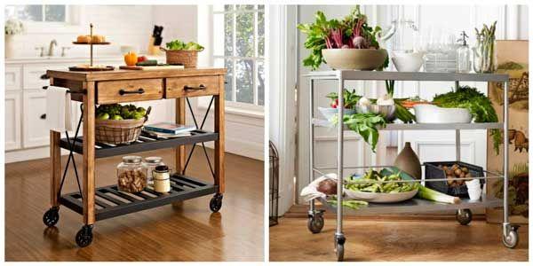 Muebles auxiliares de cocina tendencias 2017 hoylowcost - Muebles auxiliares de cocina ...