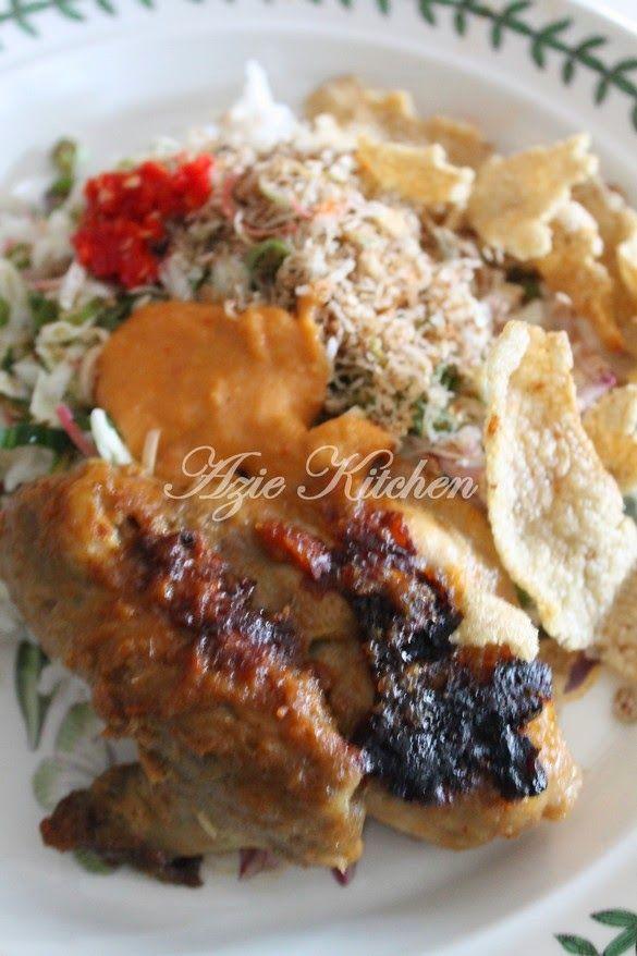 Azie Kitchen Nasi Kerabu Food Gado Gado