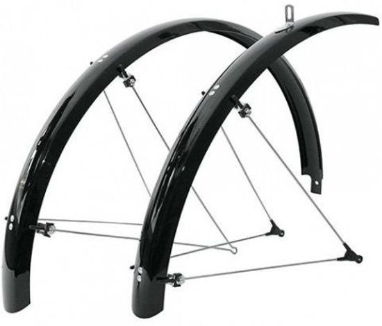 "Black 26/"" Bike Fender Ducktail or Classic Lowrider Cruiser Bicycles"