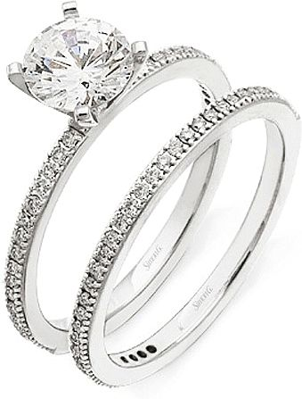 Simon G Pave Diamond Wedding Band This By Features Set Round Brilliant Cut Diamonds
