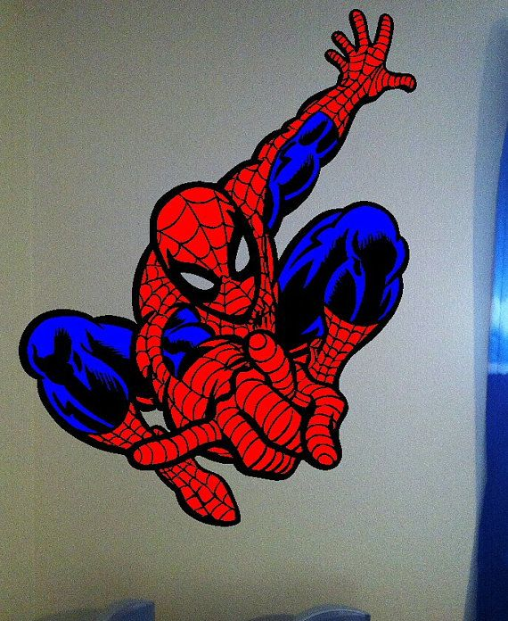 The Amazing Spiderman Wall Decal By BigDDesign On Etsy, $20.00