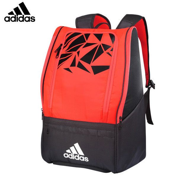 adidas WUCHT P7 Badminton Backpack Red Black Racket Shoes Equipment NWT  BG110511  adidas  Backpacks 1076b37111317