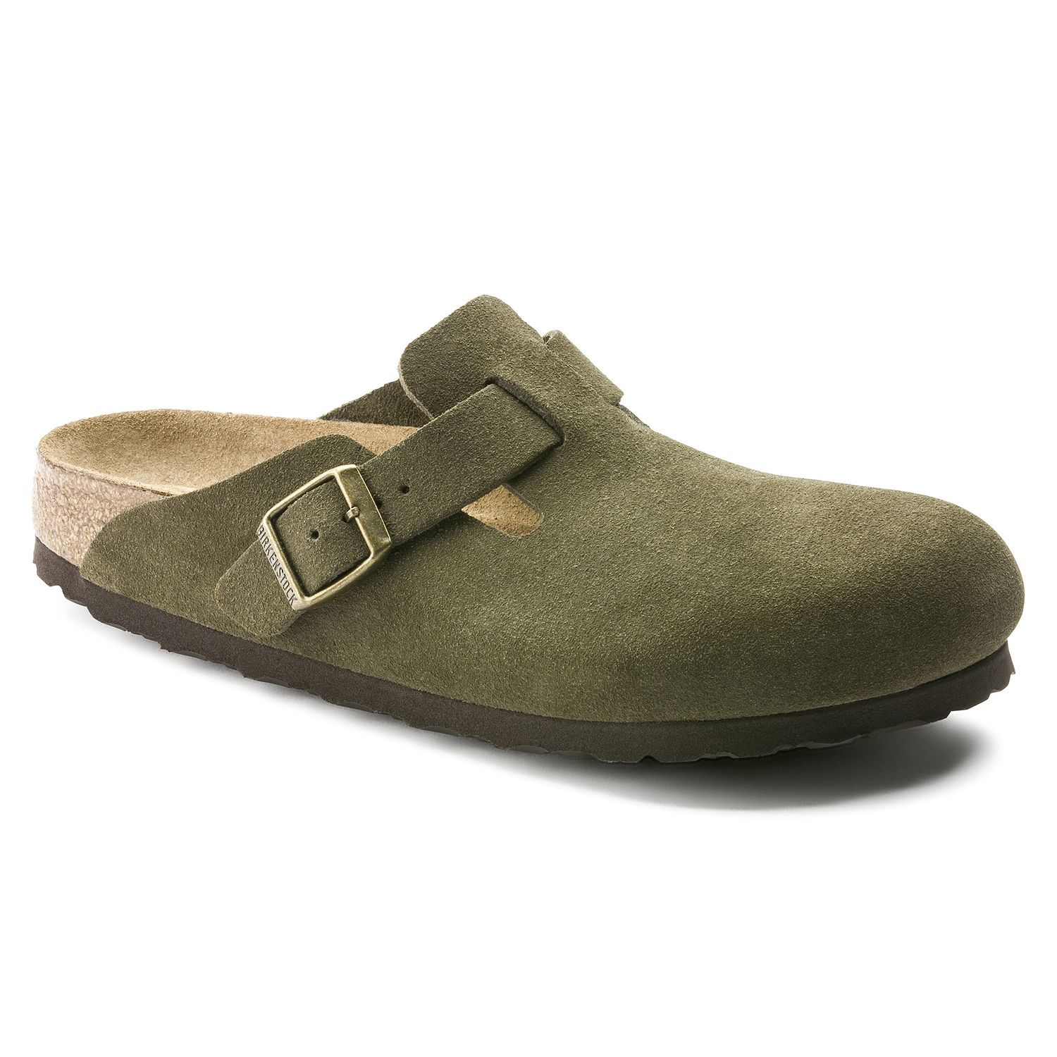 9a65848069 Boston Suede Leather Forest | {New Shoes} | Suede leather ...