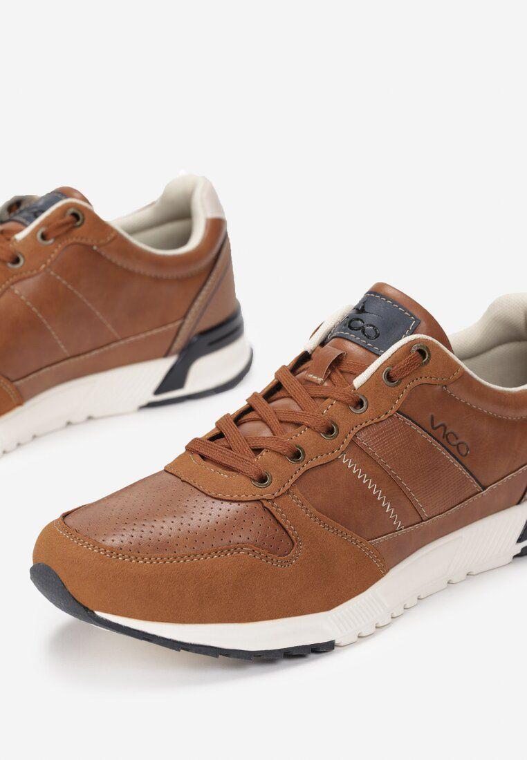 Brazowe Polbuty Kloe Shoes High Top Sneakers Top Sneakers