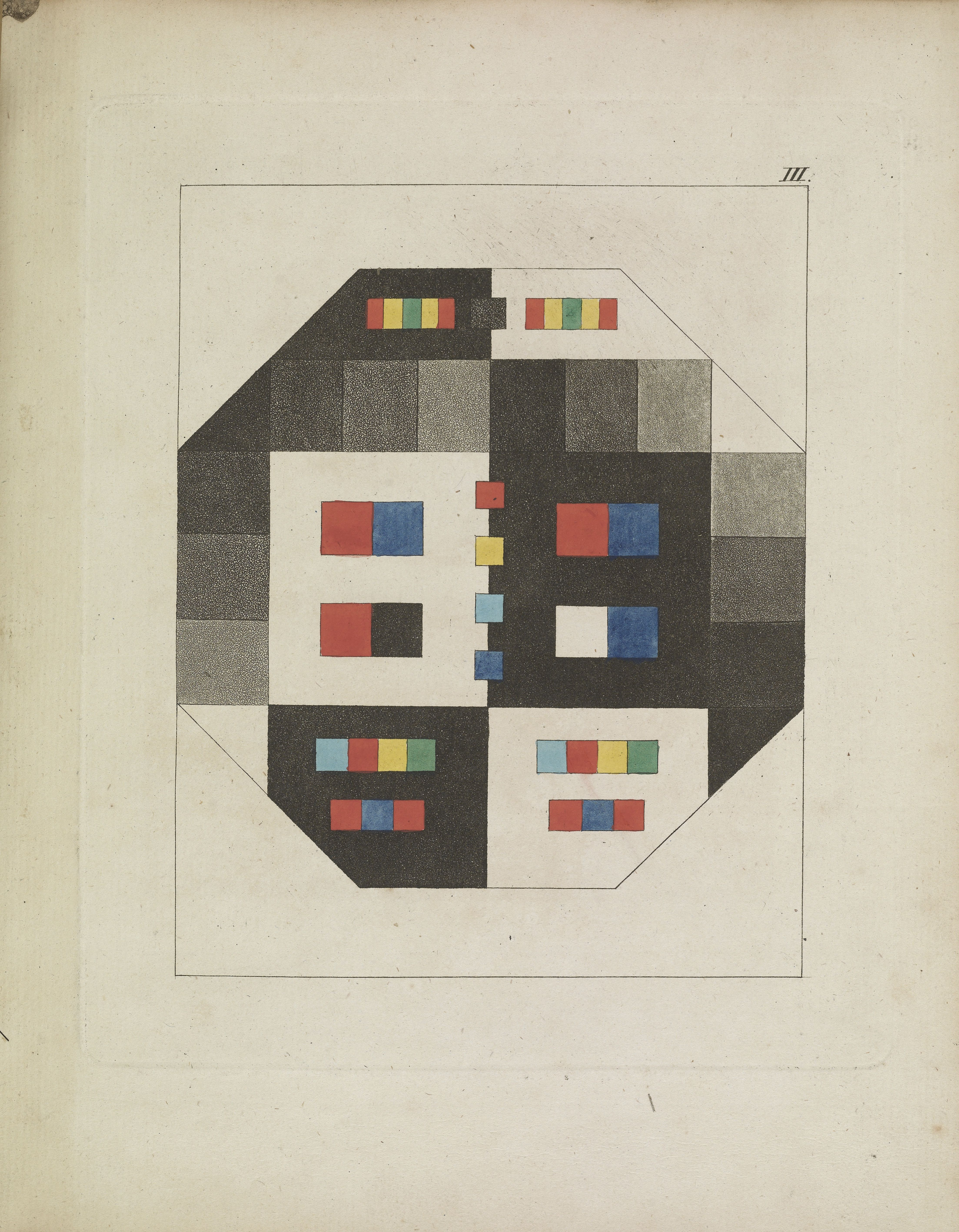 The color circles of Newton, Goethe and other color theorists