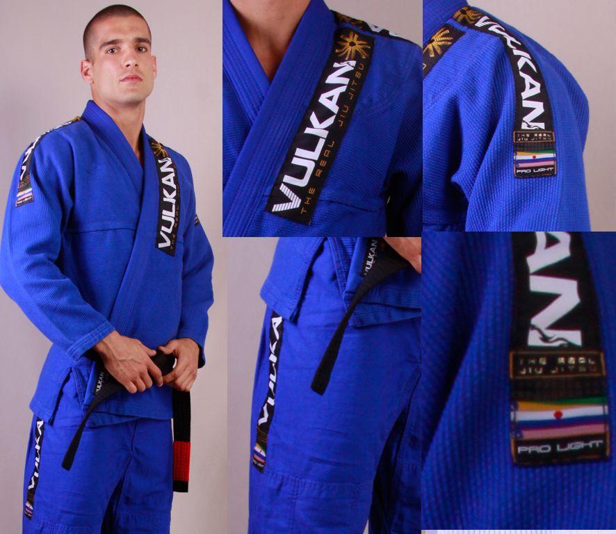Kimono Vulkan Pro Light   Azul/Blue - Adulto