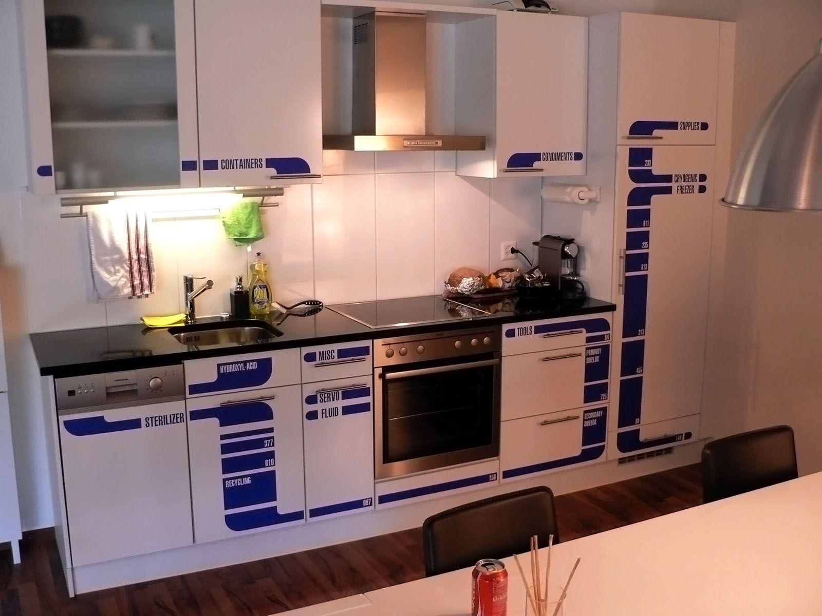 Startrek Kitchen With Images Star Trek Kitchen Dream Apartment