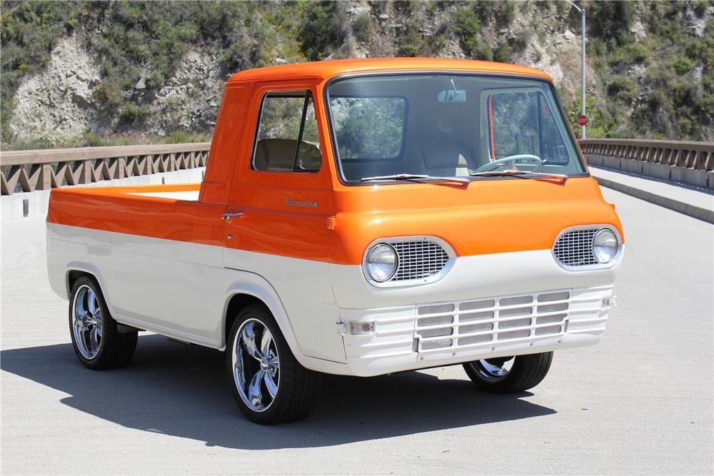 1962 Ford Econoline Custom Pickup Classic Cars Trucks Vintage