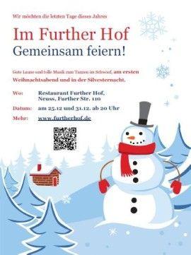 #Weihnachtsparty und #Silvesterparty im #FurtherHof in #Neuss