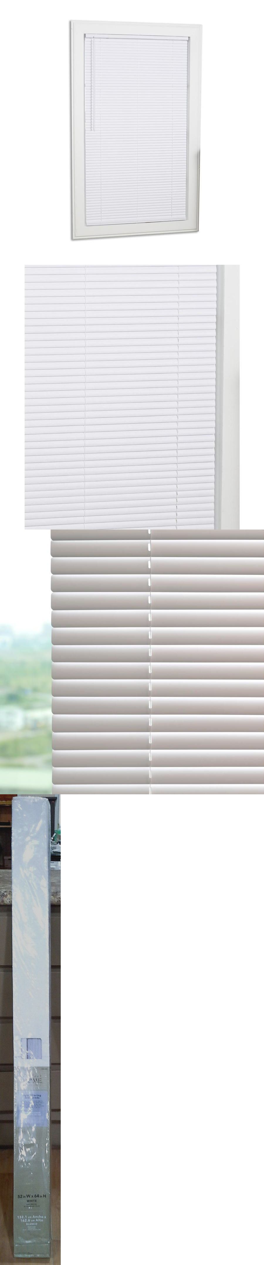 Blinds And Shades 20585 Perfect Home Indoor Light Filtering Mini Vinyl Window Blinds 52x64 White 1 Buy It Now Only Blinds For Windows Blinds Window Vinyl