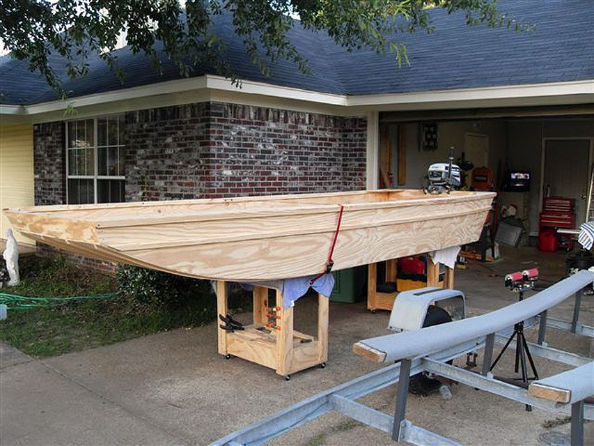 DIY Homemade Wooden Flat Bottom Boat Plans Free | Boats in 2019 | Boat plans, Wooden boat ...