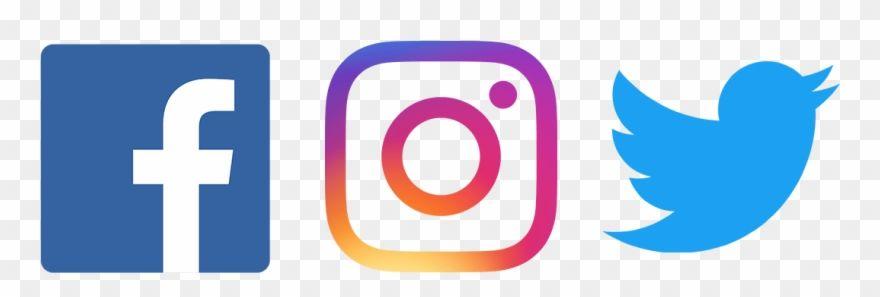 Facebook Twitter Instagram Png Fb Twitter Instagram Logo Png Clipart In 2020 Twitter Logo Facebook And Instagram Logo Instagram Logo