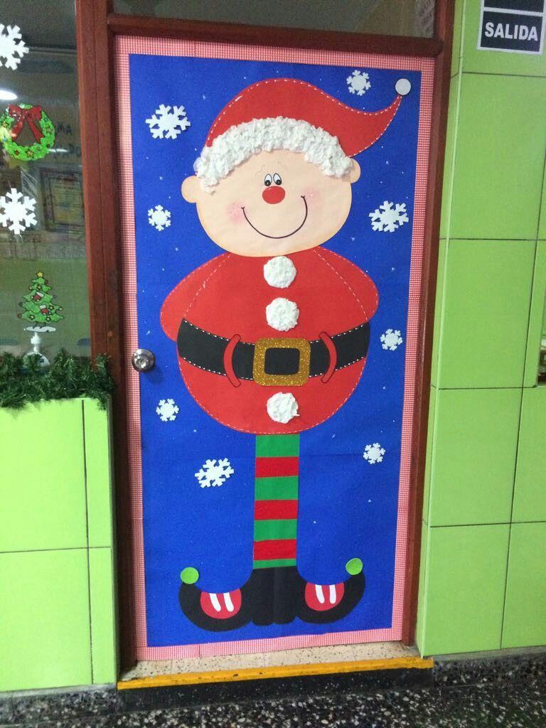 Pin de mary en puertas decoracion puertas navidad for Decoracion de puertas para navidad
