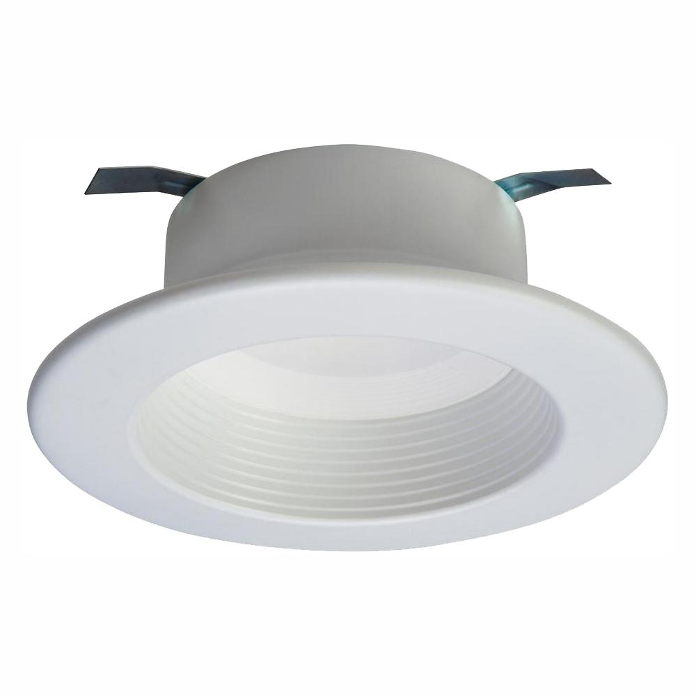 Halo Rl 4 In White Bluetooth Smart Integrated Led Recessed Ceiling Light Trim Tunable Cct 2700k 5000k By Halo Home Rl4069ble40awhr Led Recessed Ceiling Lights Recessed Ceiling Ceiling Lights
