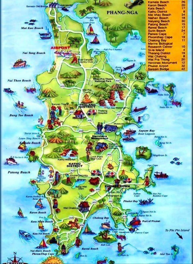 Koh Phangan map Travel Pinterest Koh phangan and Thailand travel