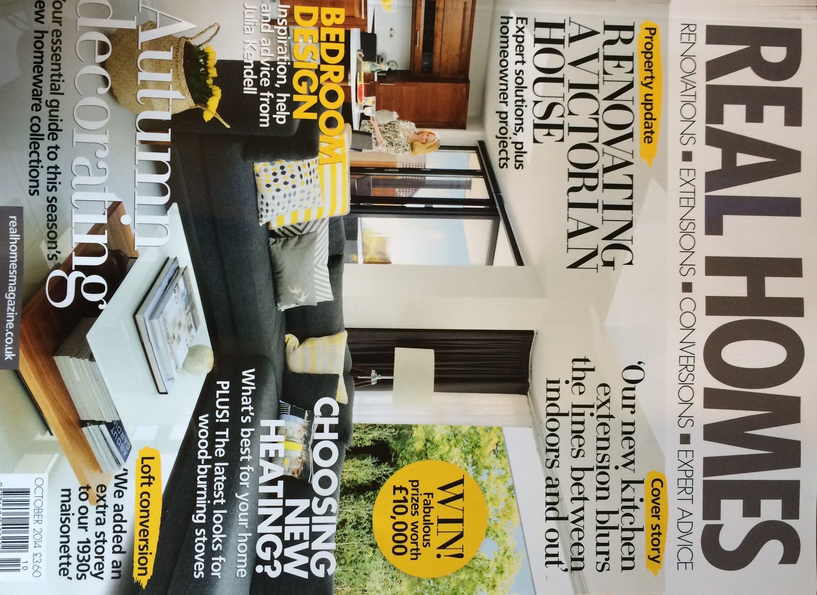 Real Homes Cover Oct 2014 | My Published Magazine Covers and ...
