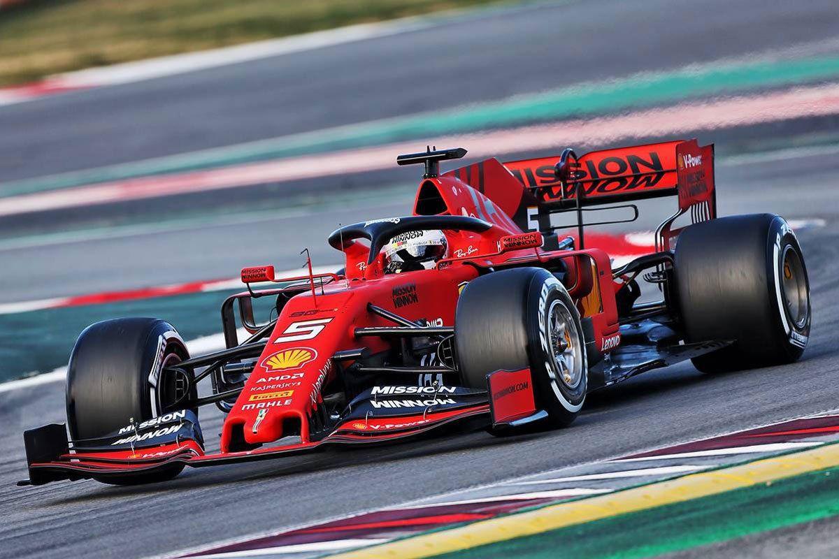F1バルセロナテスト 1日目(午前) | フェラーリのベッテルがトップ ...