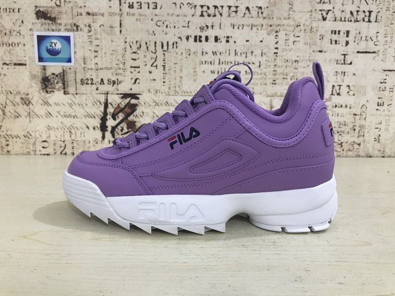 fila disruptor violette