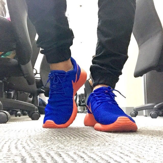 super popular 95917 d399d Jogger Pants by Topman and Roshe Run Knicks