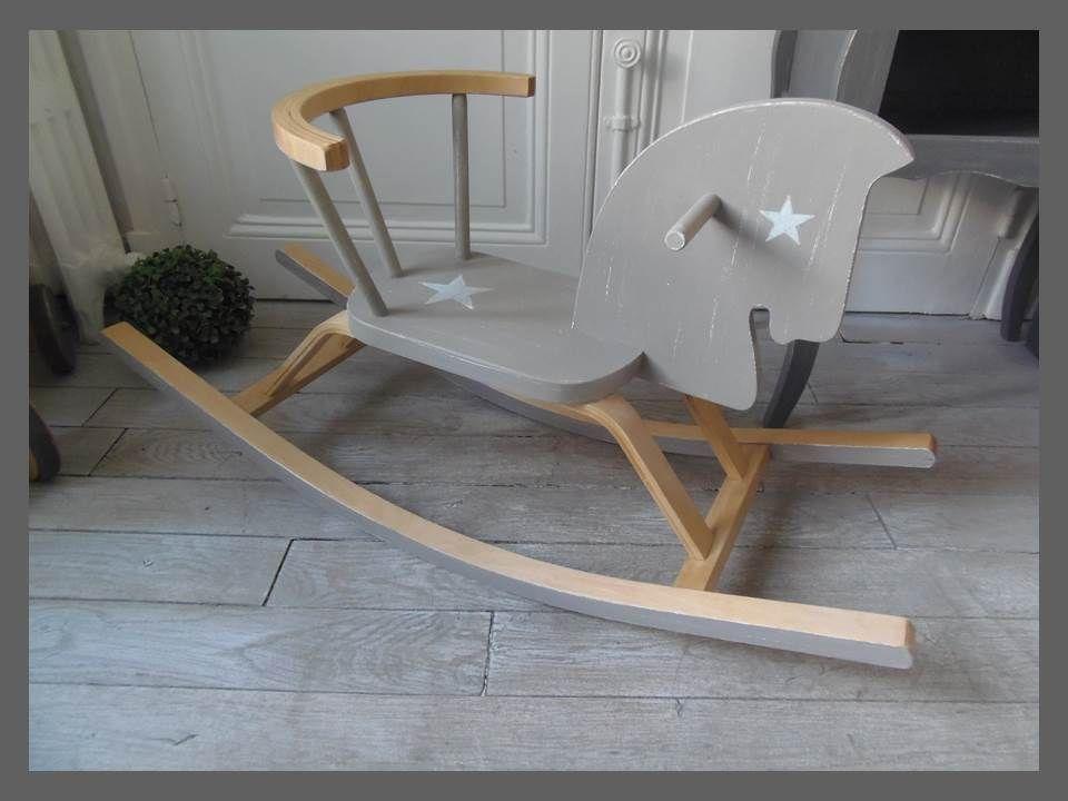 cheval a bascule enfant patine. Black Bedroom Furniture Sets. Home Design Ideas