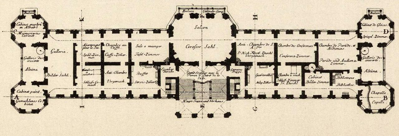 Floor Plan Of The Belvedere Vienna Hotel Plan