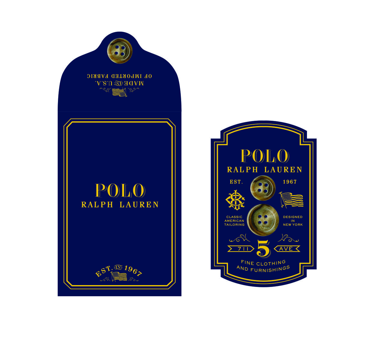 Pin by serge philip on RALPH LAUREN HANGTAGS Tag design