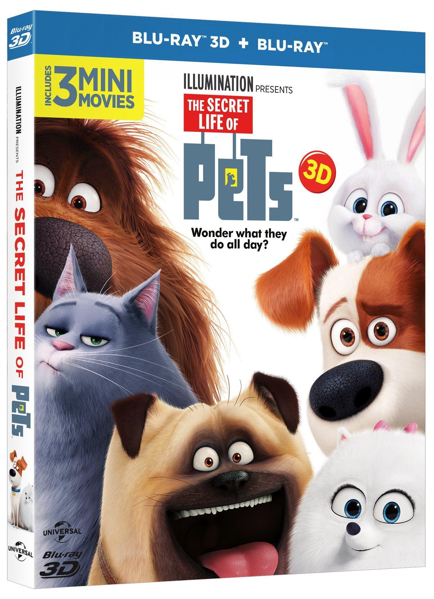 Pets Vita Da Animali Blu Ray 3d Blu Ray Pets Da Vita Pets Ray Animali Dvd Locandine Di Film