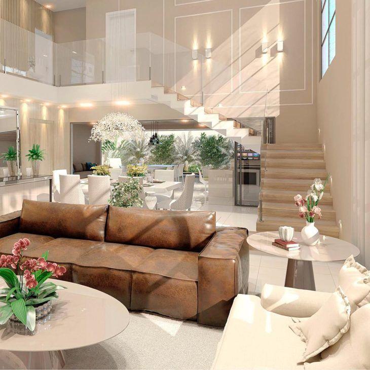 Photo of Sofá marrom: 80 modelos para arrasar na decoração da sala