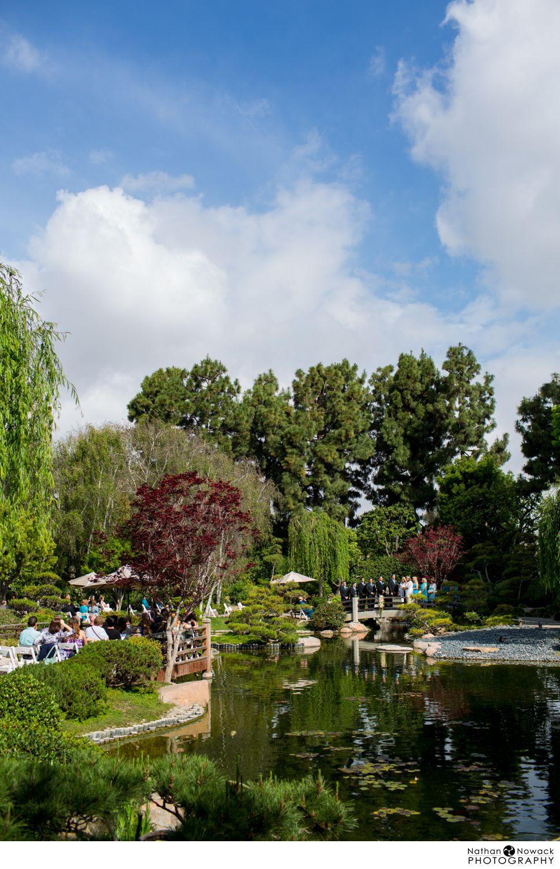 Csu Long Beach Earl Burns Miller Japanese Garden Wedding