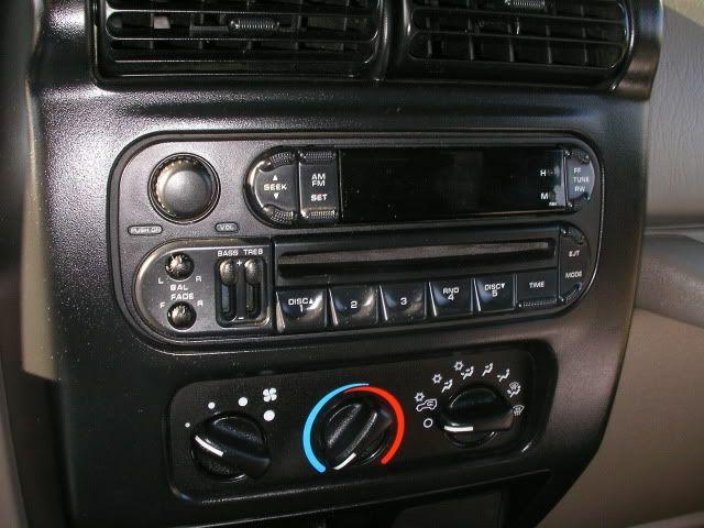 installing aftermarket radio in tj write up jeep. Black Bedroom Furniture Sets. Home Design Ideas