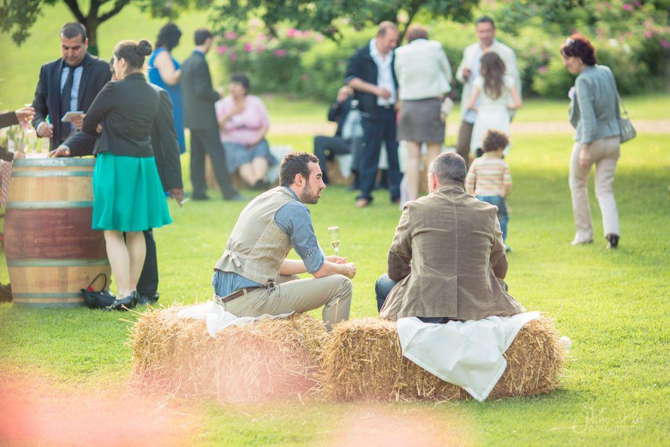Le mariage champêtre de Clémence à la ferme et dans les champs !