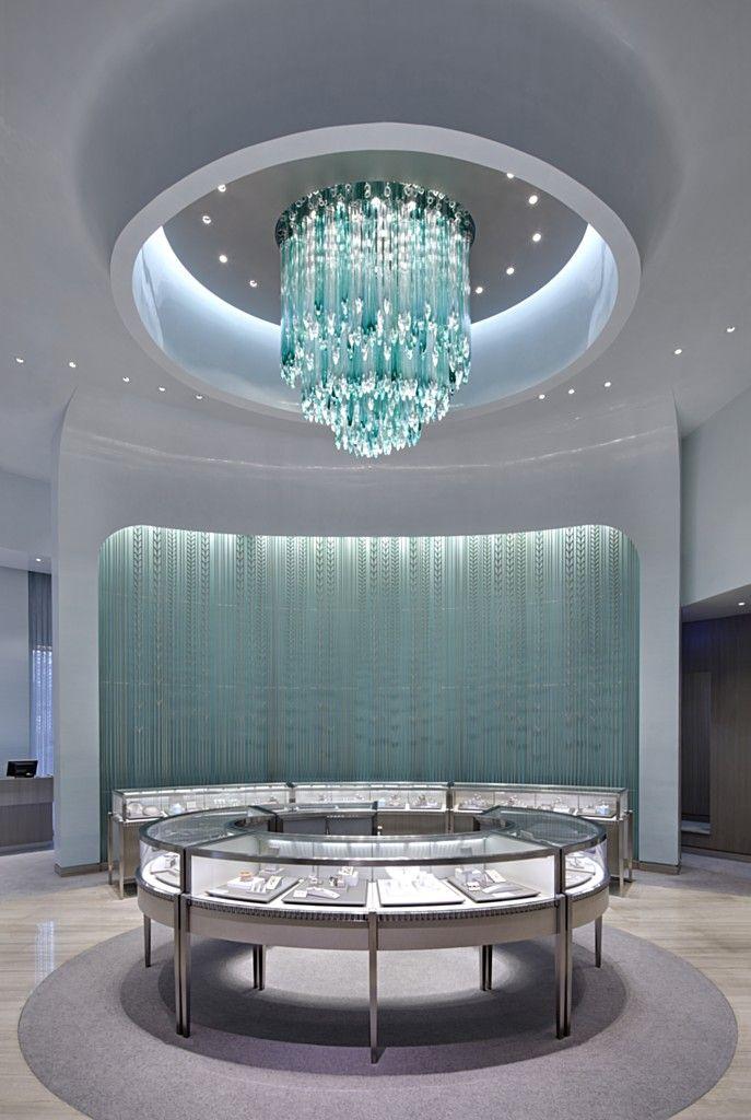 Tiffany Heart Bracelet >> TIFFANY & CO. - GRADE New York | Store interior, Store ...