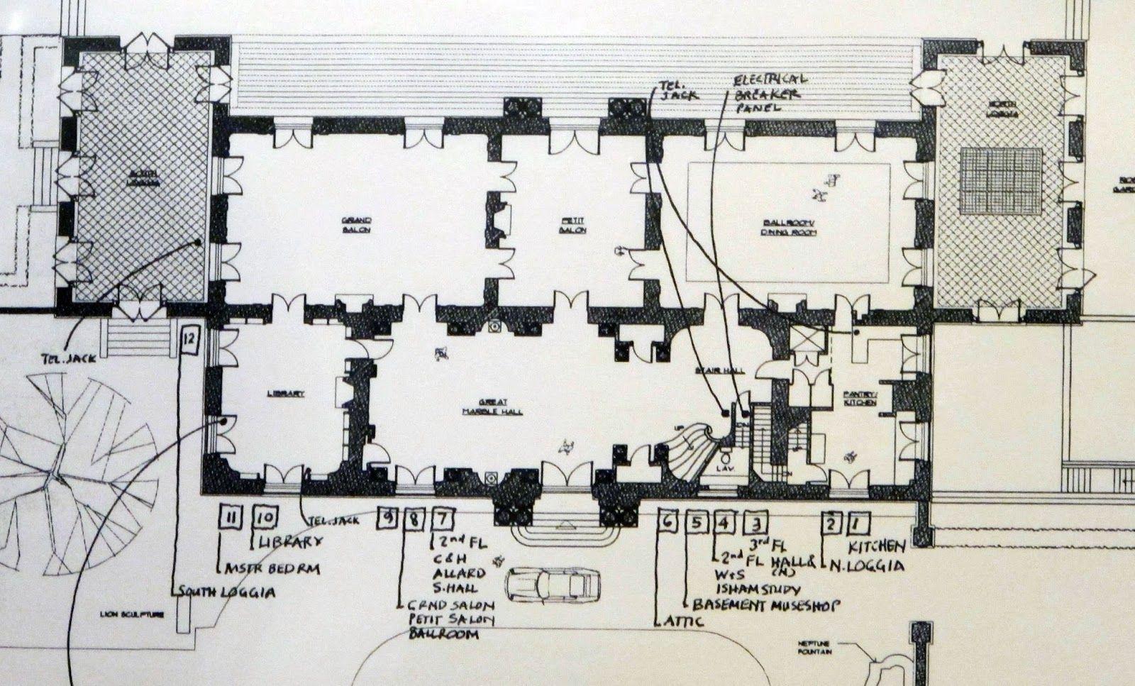 vernon court 1st floor gilded age mansions pinterest house