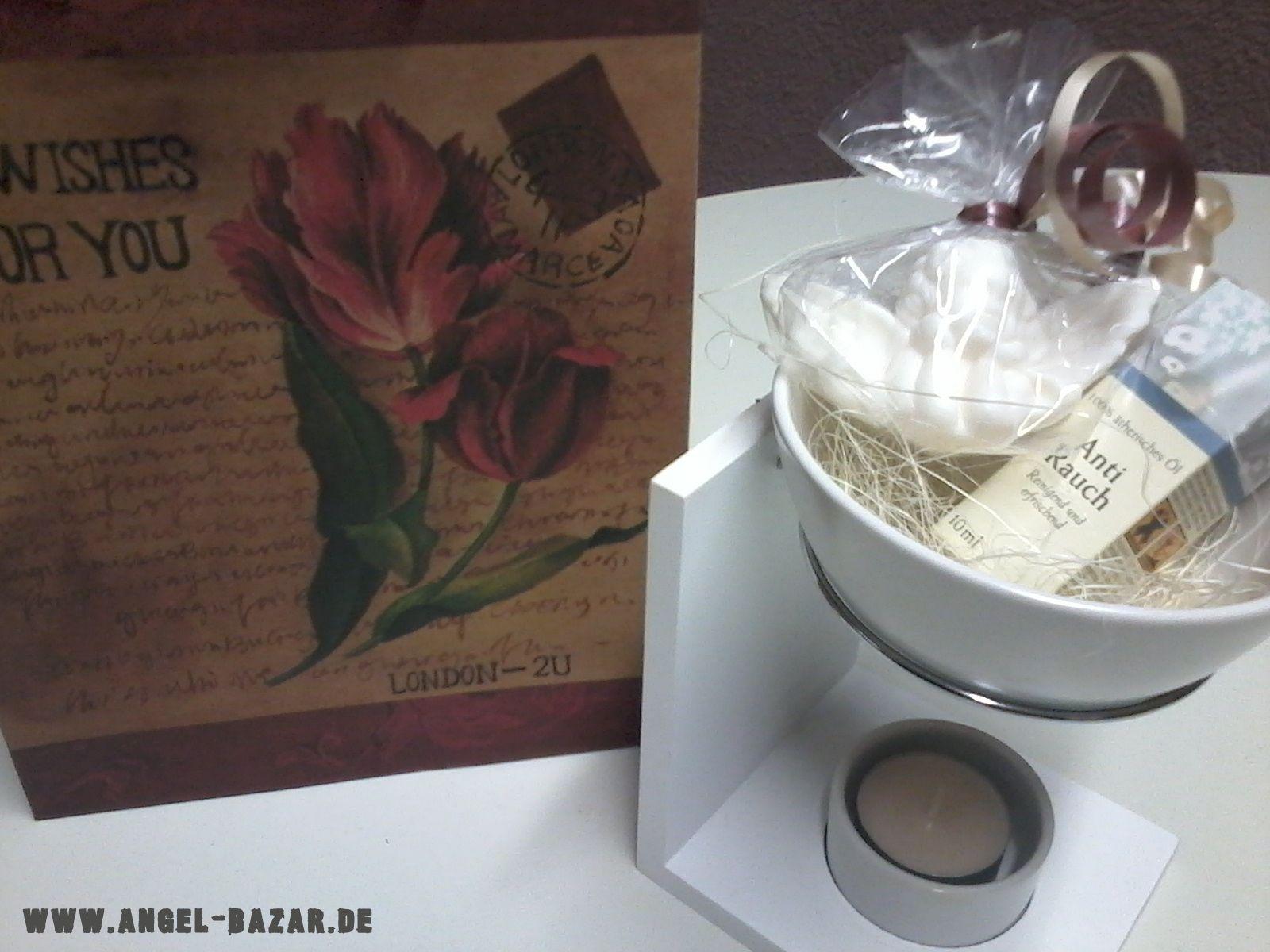 Moderne, weiße #Duftlampe mit #Duftöl #anti #Rauch und #Geschenketasche für himmlische 9,90 € www.angel-bazar.com/item.php?id=31181