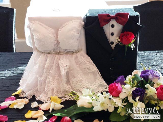 Diy bride and groom ang pow box wedding reception ideas diy bride and groom ang pow box junglespirit Gallery