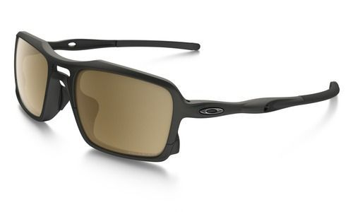 77a5c641c5c37f Oakley Triggerman Sunglasses Matte Black Tungsten Iridium Polarized ...