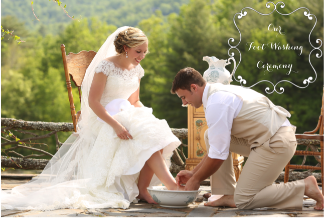 The Adorable Mess Our Foot Washing Ceremony Wedding Ceremony Script Wedding Ceremony Ceremony