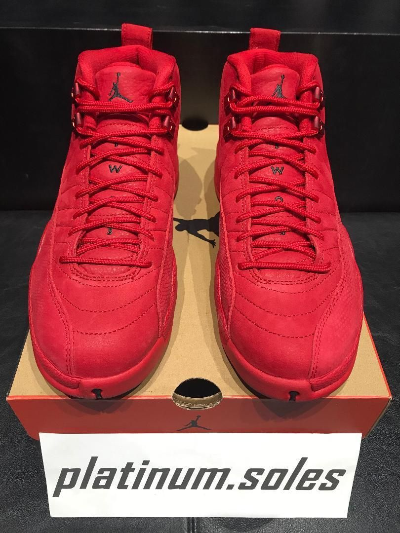 Details about Nike Air Jordan Retro 12 XII GYM RED Black Toro Black ... a227aaad3
