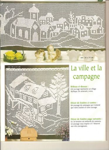 rideau au crochet elena - letricotdevero - Álbumes web de Picasa ...