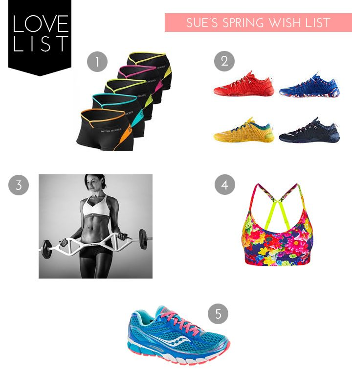 the fit lift: sue's spring wish list