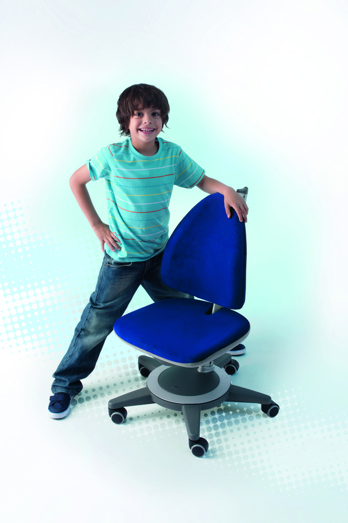 Moll Maximo Ergonomic Children Chair Fully Adjule Seat And Backrest In Both Depth Height For Optimal Fit