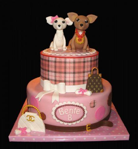 Wondrous Chihuahua Animal Cakes Crazy Cakes Dog Cakes Funny Birthday Cards Online Unhofree Goldxyz