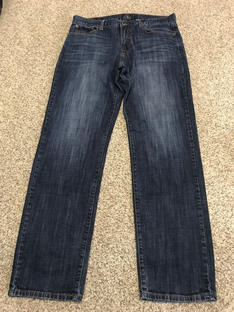 77a2a6b3 LUCKY BRAND 221 ORIGINAL STRAIGHT DESIGNER MEN MEN'S JEANS SIZE 36 X 34  #fashion #clothing #shoes #accessories #mensclothing #jeans (ebay link)