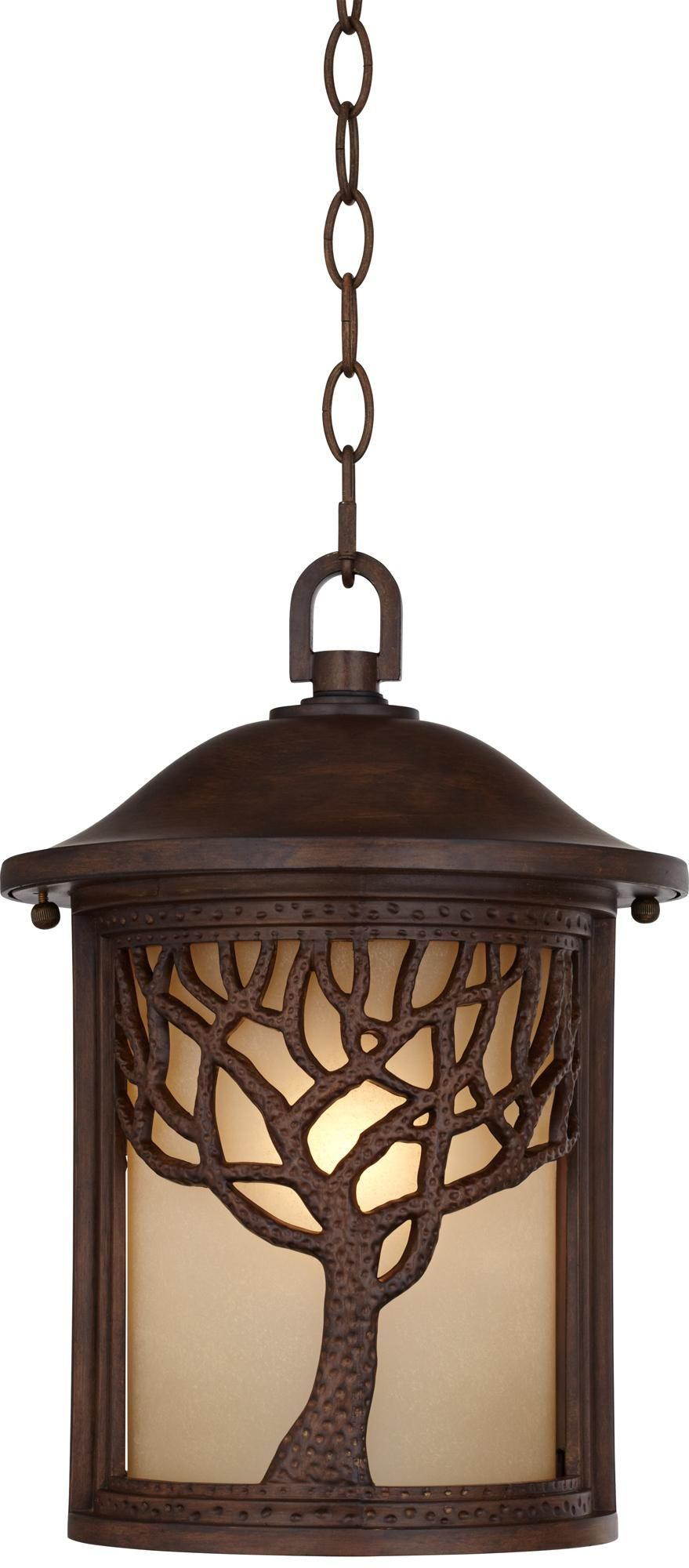 Bronze Mission Style Tree 10 High Outdoor Hanging Light W8310 Lamps Plus Outdoor Hanging Lights Light Mission Style