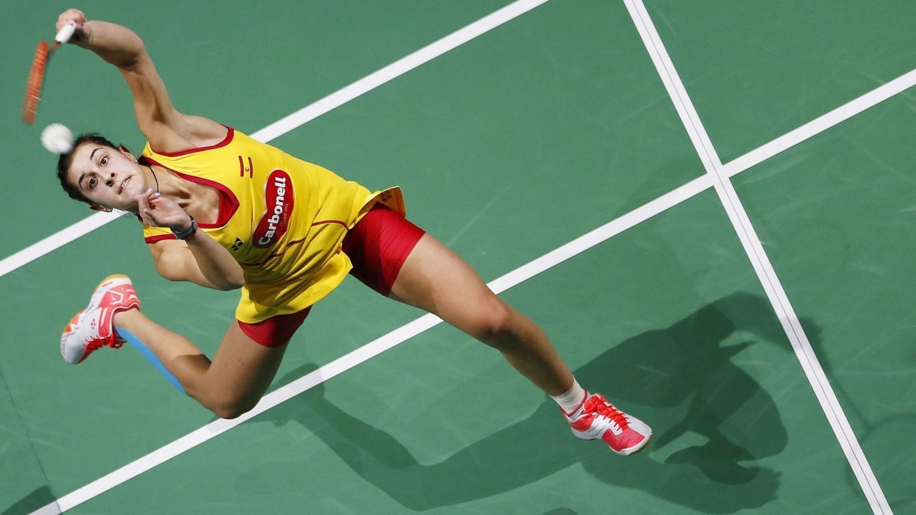 Carolina Maria Marin Martin Born 15 June 1993 Is A Badminton Player From Spain Who Is Currently Ranked No 1 In The World By Badmint Badminton Marines Sports