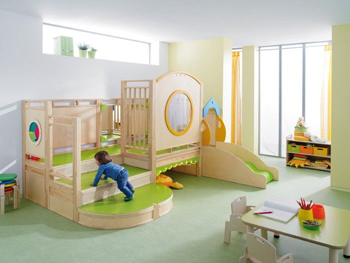 New This is from Gressco really good looking with good color choices for accents Beautiful - Latest preschool beds Awesome