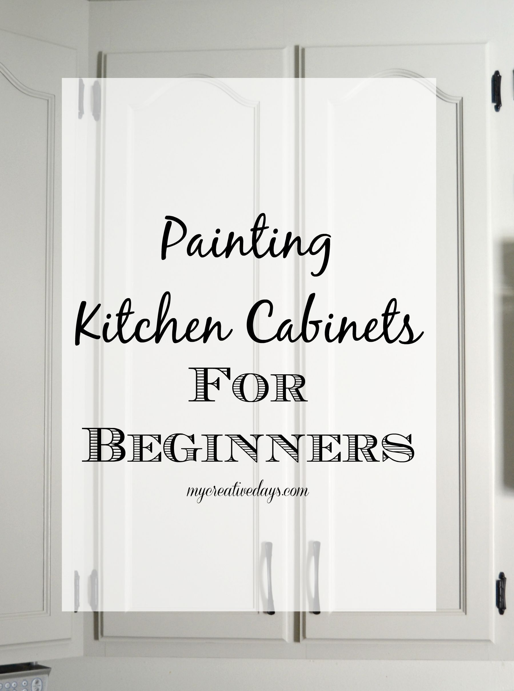 For Painting Kitchen Kitchen Makeover Painting The Cabinets Creative Cabinets And
